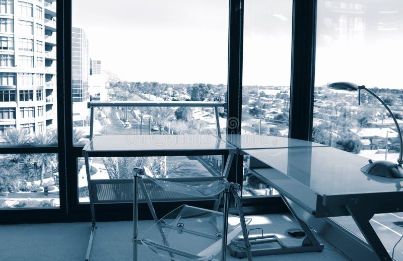 biuro na róg widok zdjęcia royalty free