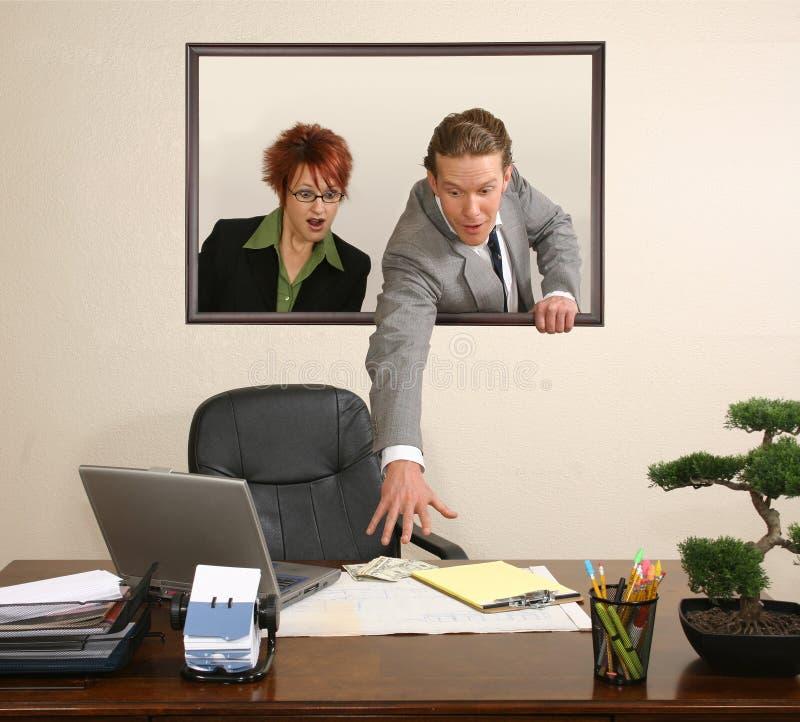 biuro portret zdjęcia stock