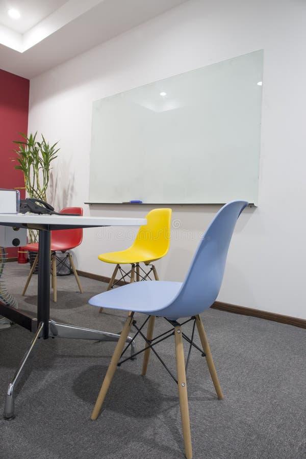 Biuro pusty pokój konferencyjny fotografia royalty free