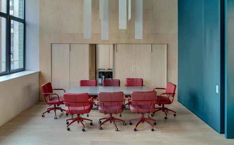 Biuro w nowożytnym stylu fotografia stock