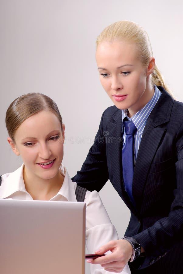 biurowa bizneswoman praca obrazy stock