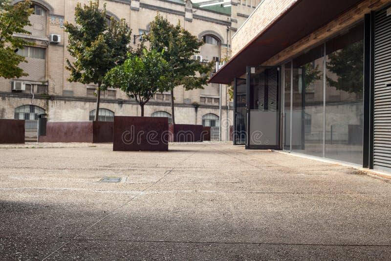 Biurowa ulica stary miasto fotografia royalty free