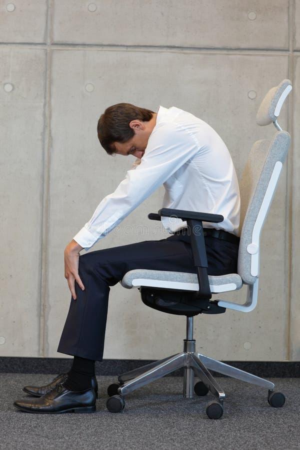 Biurowej pracy stresu redukcja fotografia stock