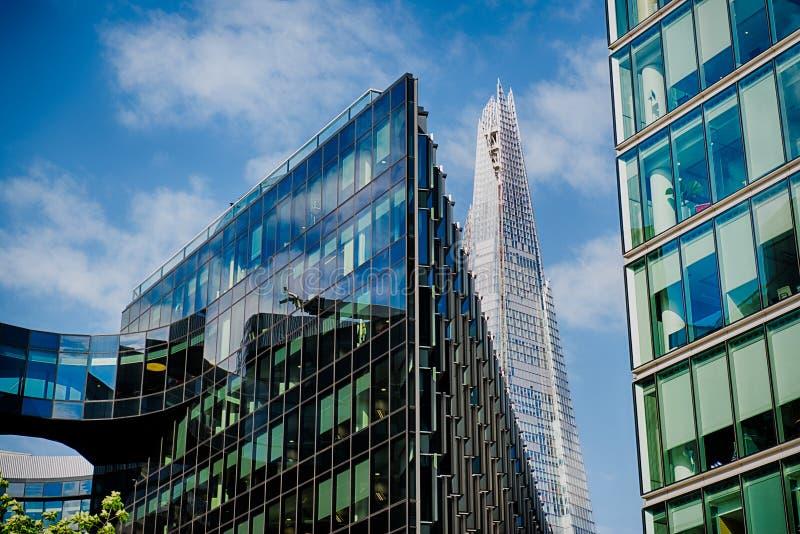 Biurowi szklani budynki zdjęcia stock