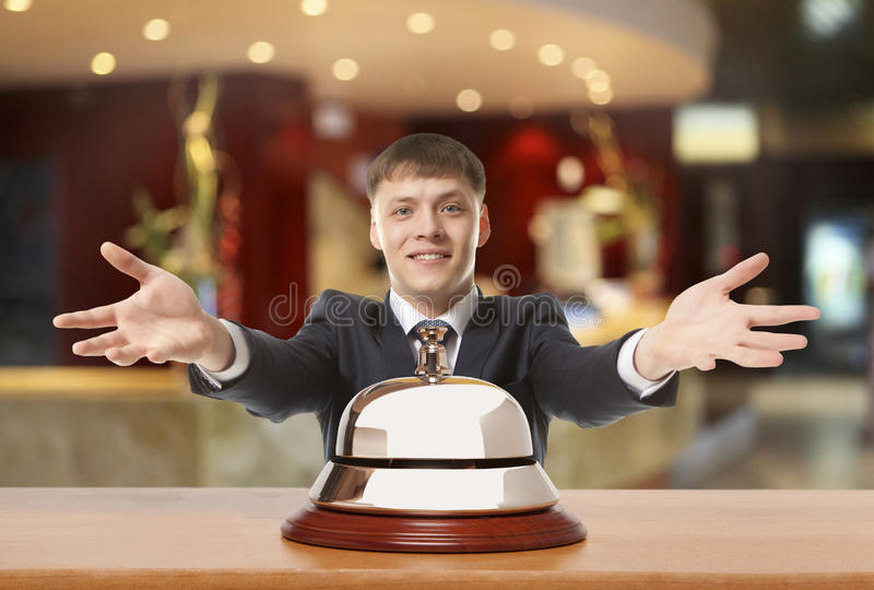 Biurowy Concierge obrazy royalty free
