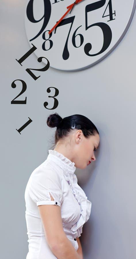 biurowy czas fotografia stock
