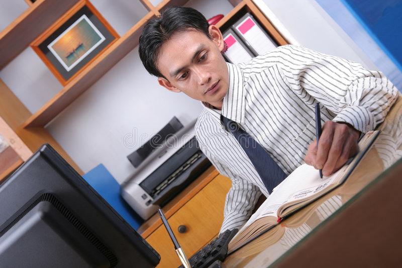 biurowy działanie zdjęcie stock