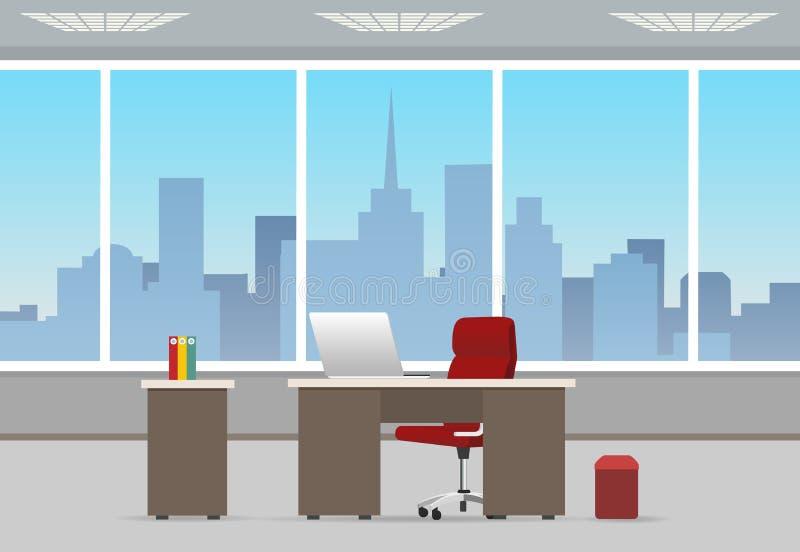 Biurowy izbowy biznesowy wnętrze zdjęcia royalty free