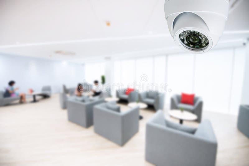 Biurowy kamery bezpieczeństwej CCTV monitorowanie monitoru system fotografia royalty free