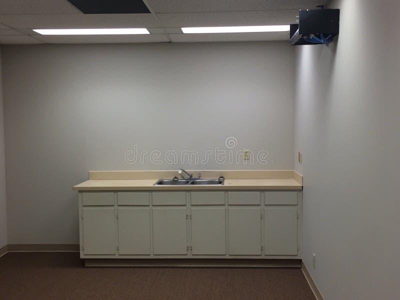 Biurowy kuchenny kontuar obraz stock