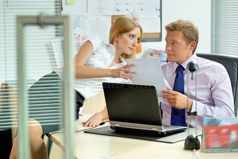 Biurowy miłości sprawy pojęcie obraz stock