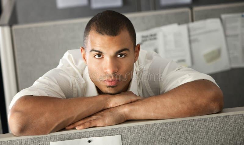biurowy poważny pracownik zdjęcie stock