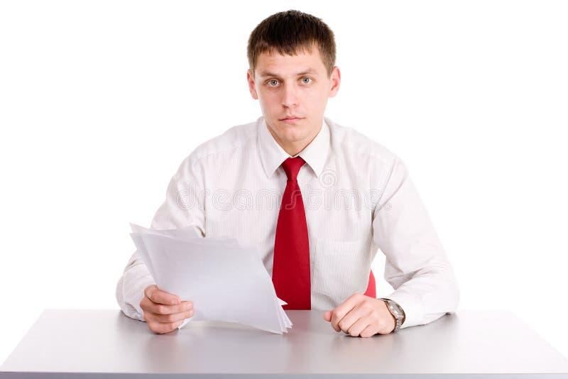 biurowy robociarz zdjęcia stock