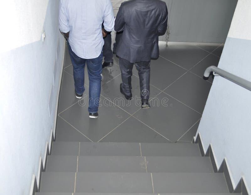 Biurowy schody fotografia royalty free
