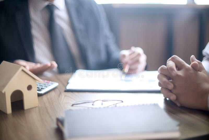 Biurowy spotkanie Pożyczkowego biznesu finace fotografia stock