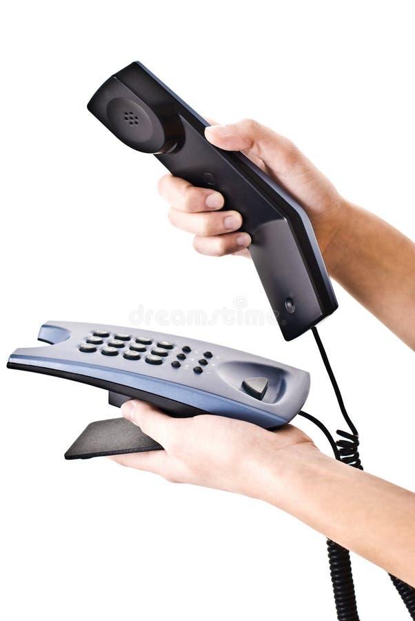 biurowy telefon zdjęcia stock