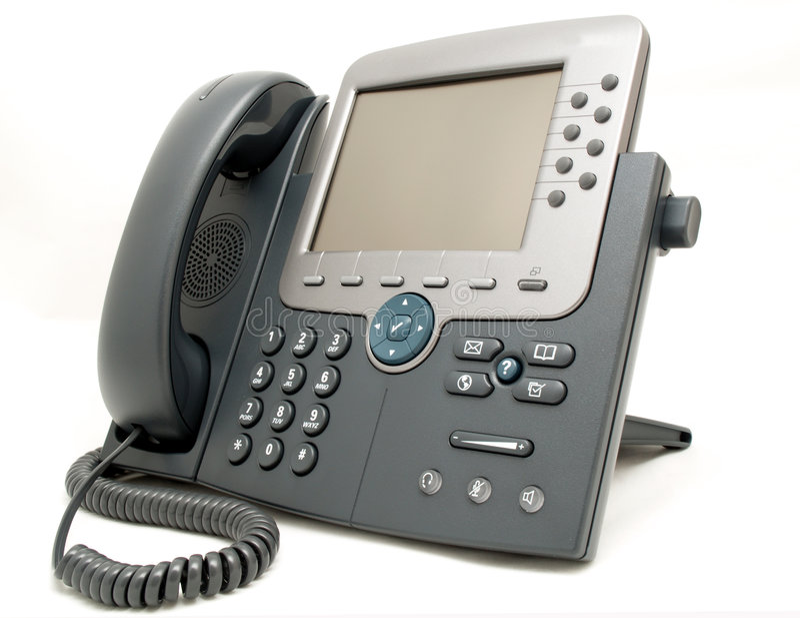 biurowy telefon
