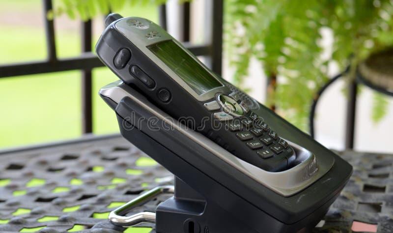 Biurowy telefon Na zewnątrz II zdjęcia royalty free