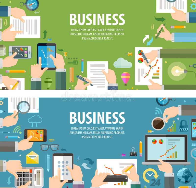 Biurowy wektorowy loga projekta szablon biznes lub ilustracji