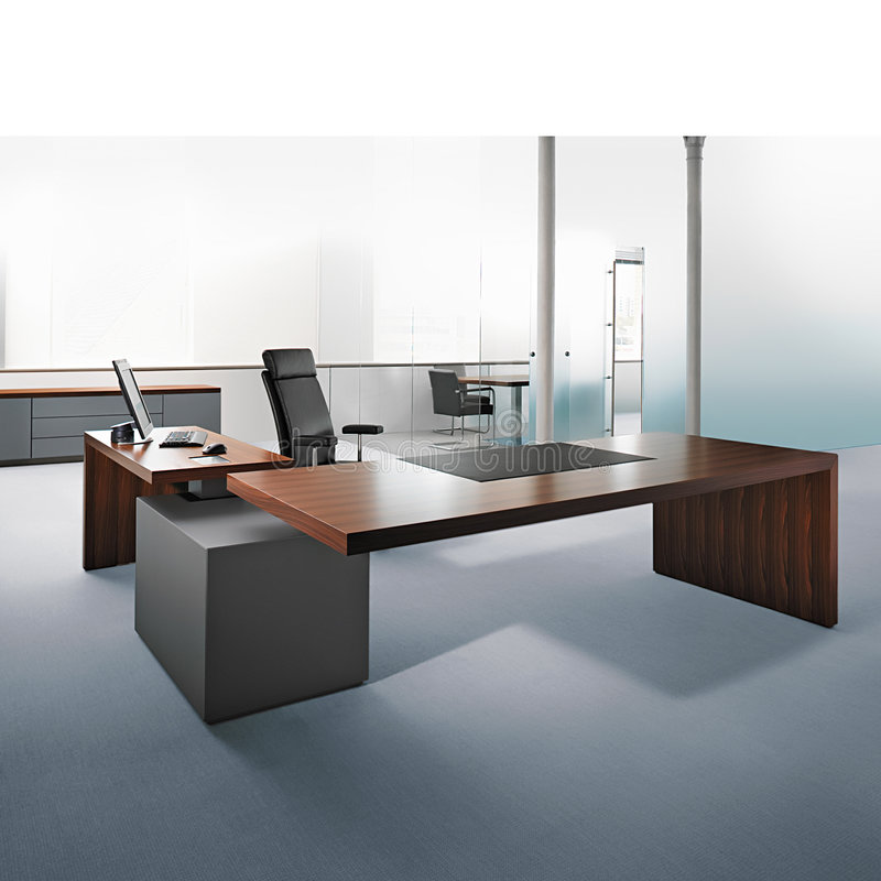 Biurowy wnętrze ilustracja wektor