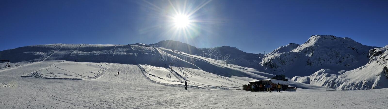 Bivio Ski Resort foto de stock