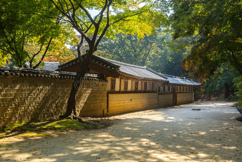 Biwon庭院 免版税库存照片