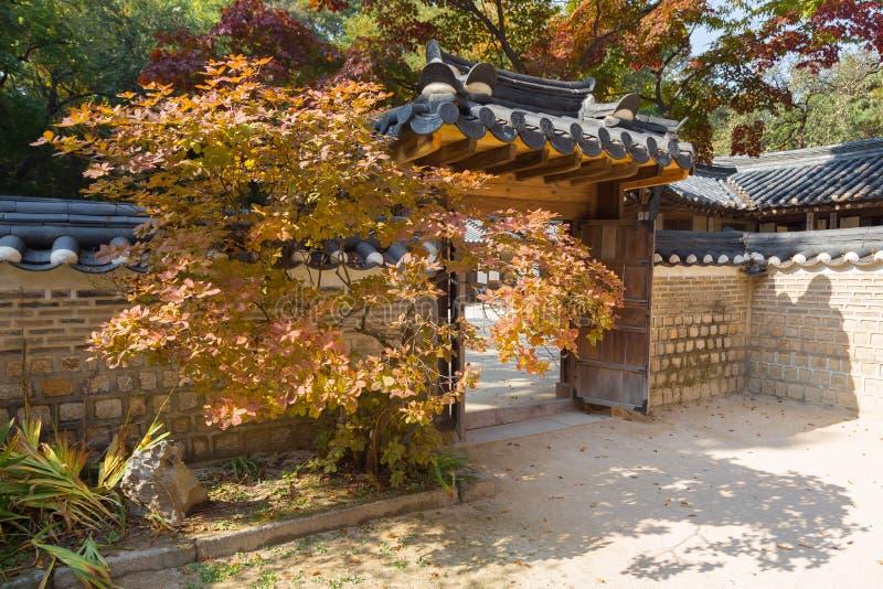 Biwon庭院 库存照片