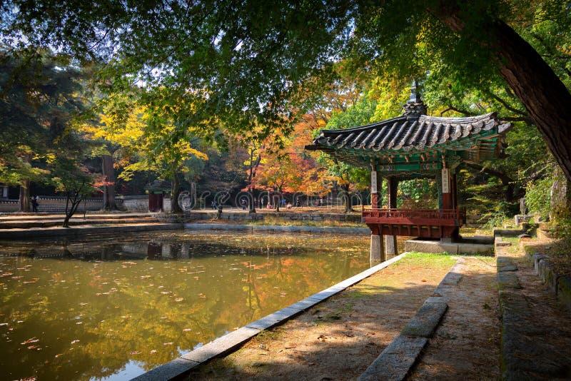 Biwon () (被修造的神秘园1623向前) 库存照片
