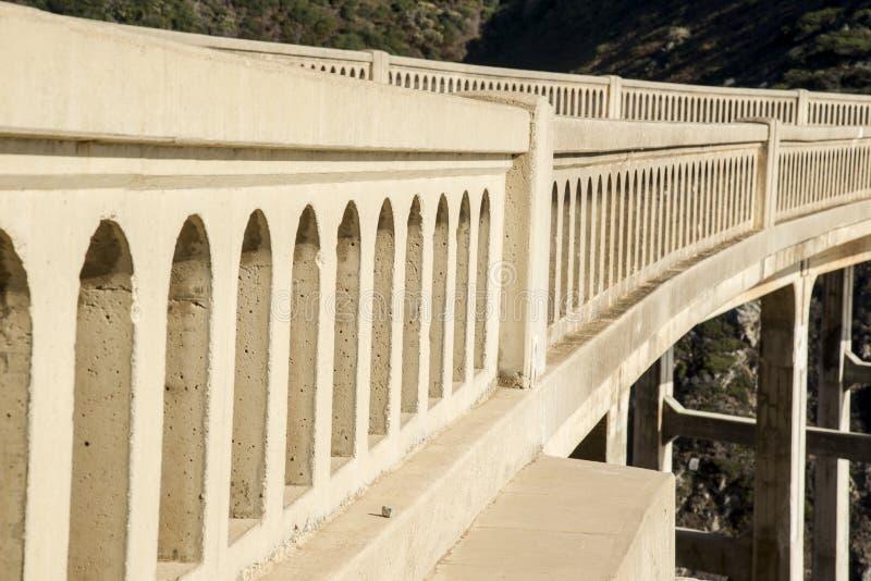 Bixby桥梁 免版税库存图片