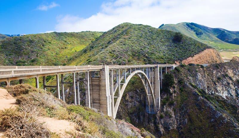bixby γέφυρα στοκ φωτογραφίες