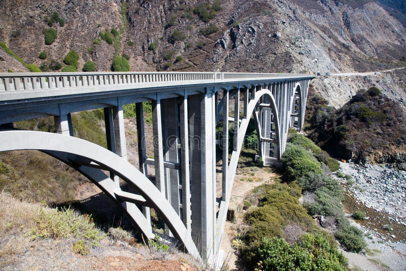bixby κολπίσκος γεφυρών αψίδ&o στοκ φωτογραφίες με δικαίωμα ελεύθερης χρήσης