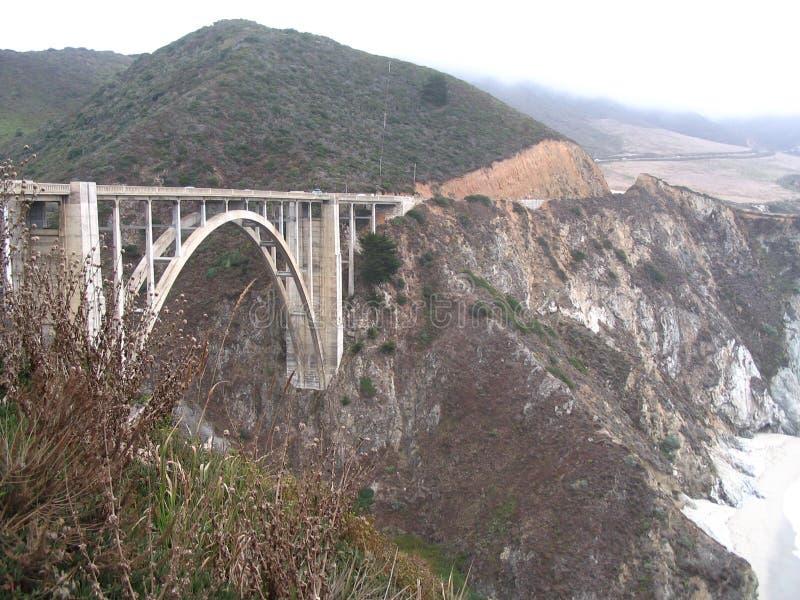 bixby κολπίσκος γεφυρών στοκ εικόνες με δικαίωμα ελεύθερης χρήσης