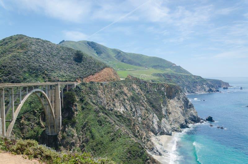 bixby мост стоковые изображения