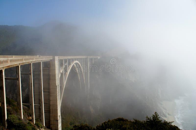 Bixby Bridge California Coast Royalty Free Stock Images