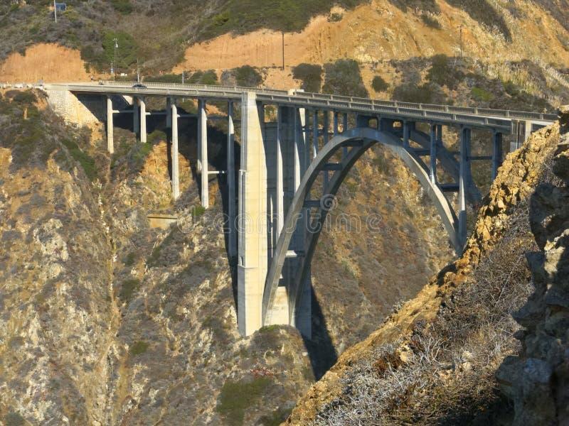 Bixby bro stora Sur Calfornia arkivbild