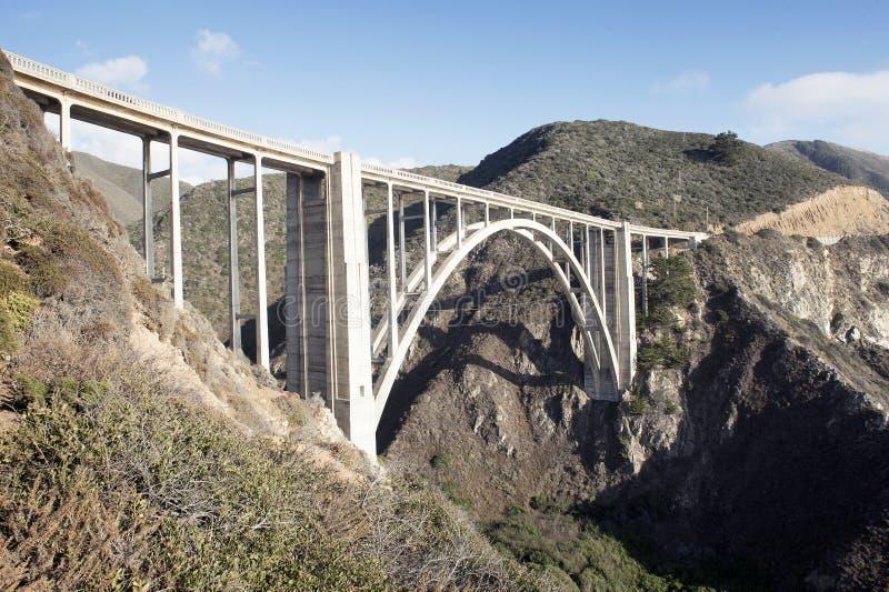 Bixby Creek Bridge, Big Sur royalty free stock photo