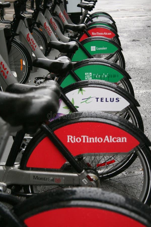 Bixi Bikes royalty free stock images