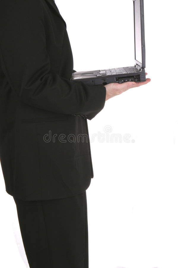 Biz Laptop One royalty free stock photography
