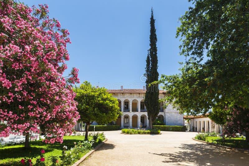 Bizantino e Christian Museum fotografie stock