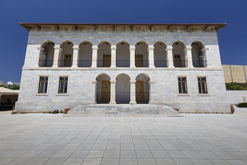 Bizantino e Christian Museum fotografia stock libera da diritti