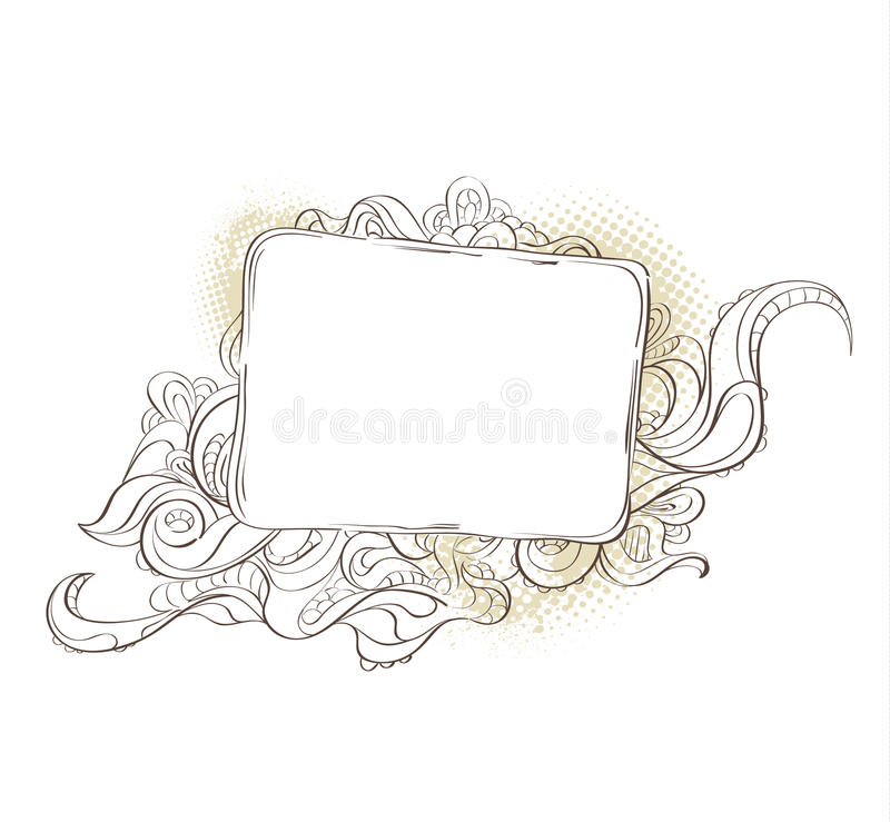 Download Bizarre Background For Your Text Stock Vector - Image: 13920195