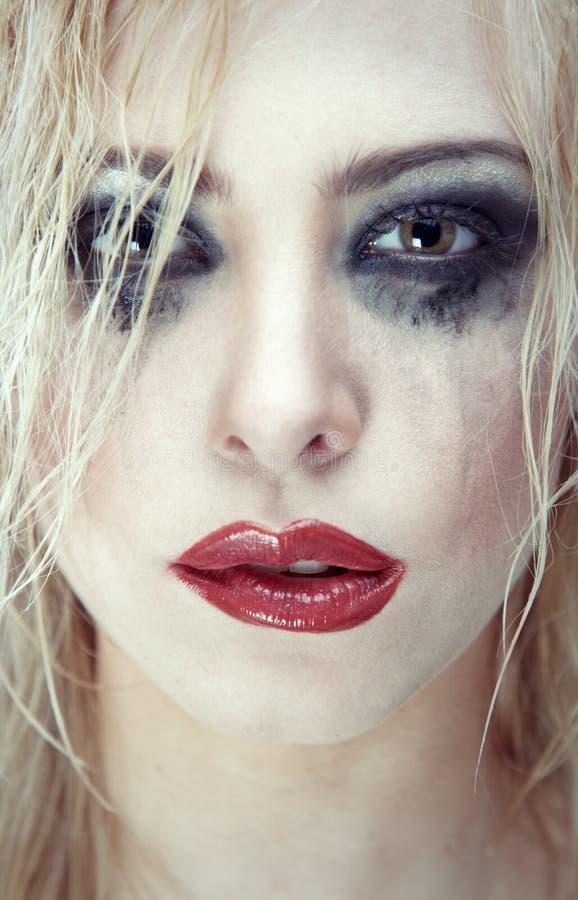 Download Bizarre beauty stock image. Image of blond, lipstick - 19171419