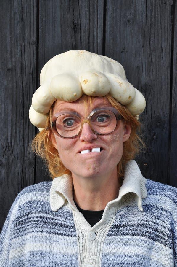 Bizarre Woman Stock Photo