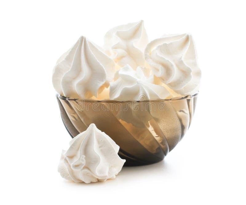 Bizet. Cake isolated on white stock images