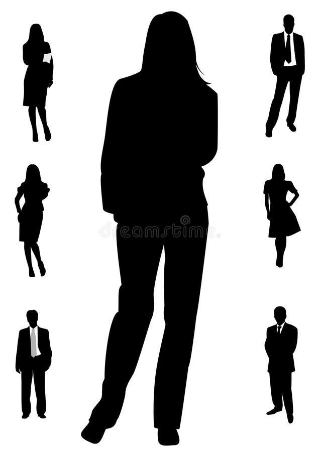 biznes royalty ilustracja