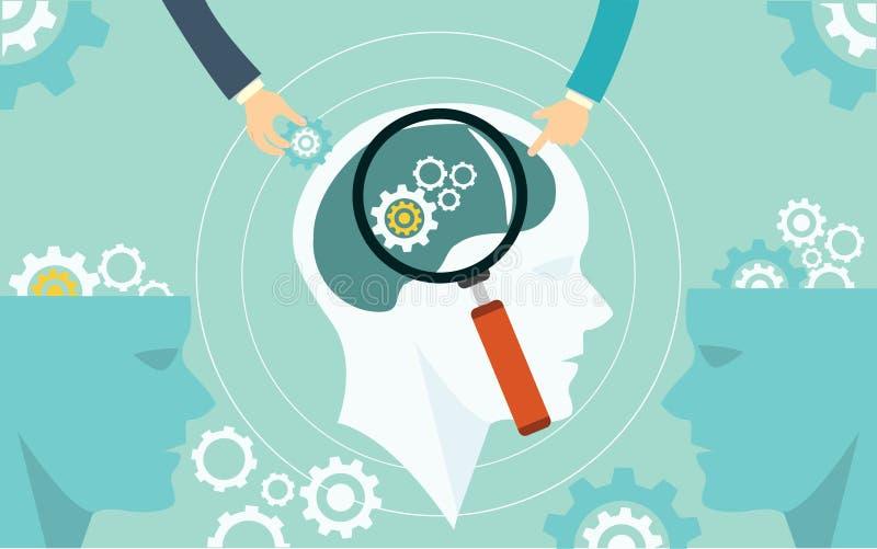 Biznes automatyzująca pojęcie procesu produkcji automatyzacja ilustracja wektor