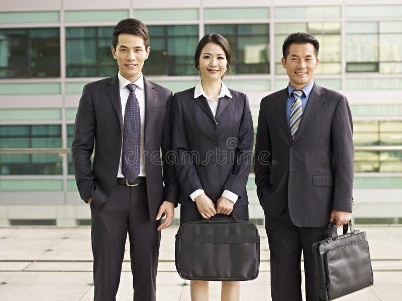 Biznes azjatycka Drużyna zdjęcia royalty free