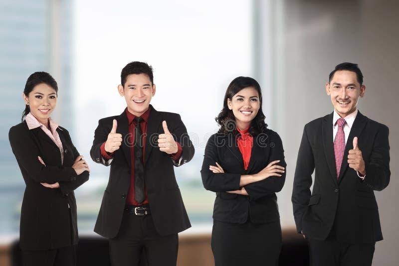 Biznes azjatycka Drużyna obraz royalty free