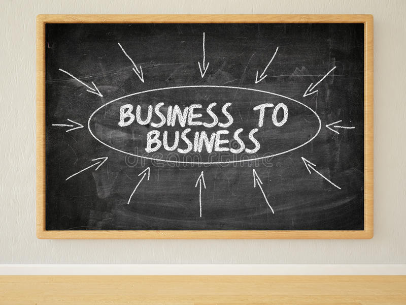 Biznes biznes royalty ilustracja