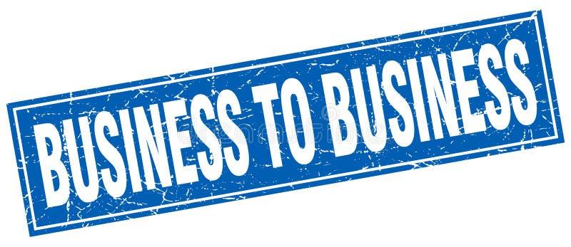 biznes biznesowy znaczek royalty ilustracja